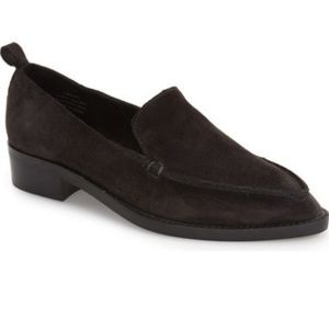 Jeffrey Campbell Barnett Suede Loafers